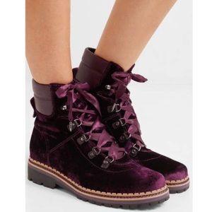 NWT Sam Edelman Browan velvet ribbon boots 7.5